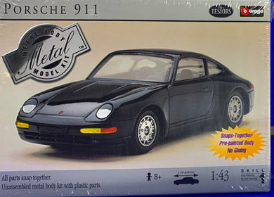 Porsche 911 Unassembled Metal body kit with plastic parts  1/43 Scale