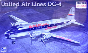 United Air Lines DC-4  1/144 scale  2012 Issue