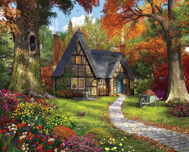 Autumn Cottage - 1000 Piece Jigsaw Puzzle