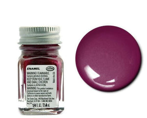 Flake Purple  - Metallic  -1/4 oz Enamel by Testors #1531