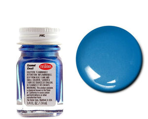 Flake Blue   - Metallic  -1/4 oz Enamel by Testors #1539