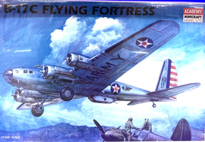 B-17C Flying Fortress  1/72  	1988 Initial release