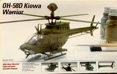 OH-58D Kiowa Warrior Helicopter 1/72