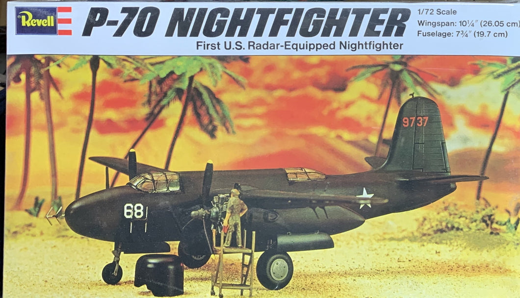 P-70 Night Fighter 1/72 1994 Issue
