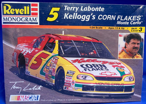 Terry Labonte's #5 Kellogg's Corn Flakes Chevrolet Monte Carlo 1/24  1997 Issue