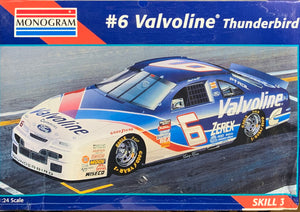#6 Valvoline Thunderbird 1/24 1996 Issue