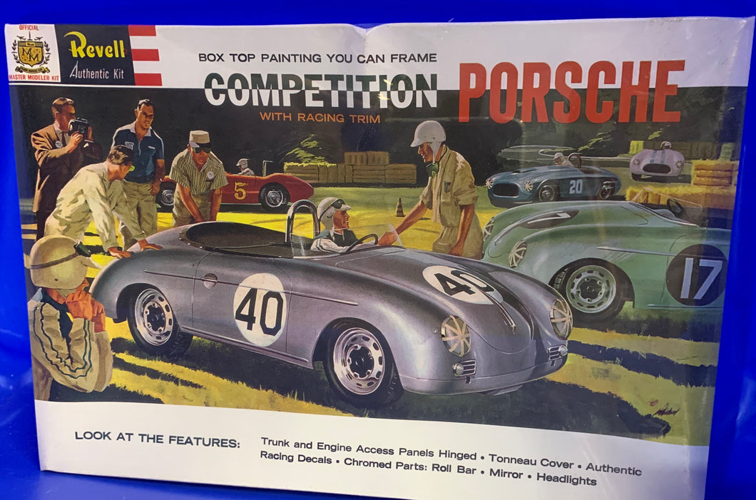 Competition Porsche with racing trim 1/25 1996 Issue