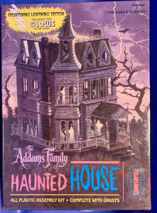 The Addams Family Haunted House Glow-in-the-Dark 1/64  1995 Issue