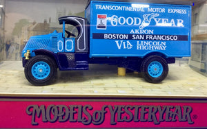 1930 MACK AC - Good Year  1/60 Scale