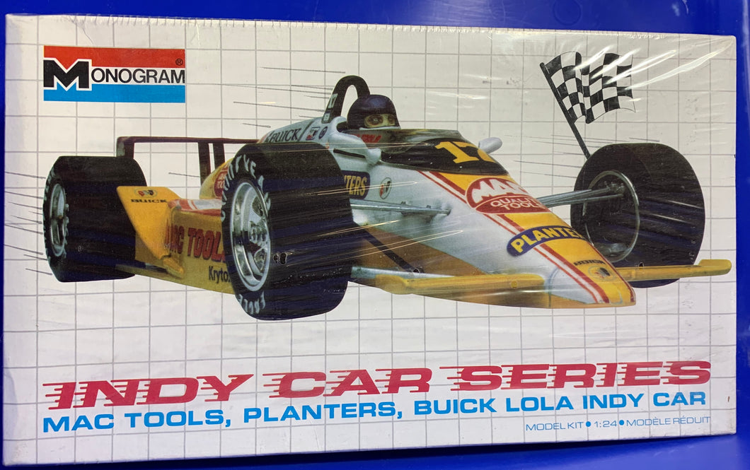 Mac Tools, Planters, Buick Lola Indy Car 1/24 1989 Issue