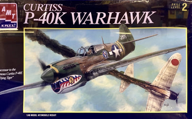 Curtiss P-40K Warhawk  1/48  1996 Issue