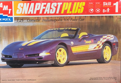 1998 Corvette Indianapolis 500 Pace Car Snap Fast Plus  1/25