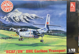 """RCAF/UN"" DHC Caribou Transport 1/72 1998 Issue"