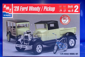 1928 Ford Woody (Limited) 1/24