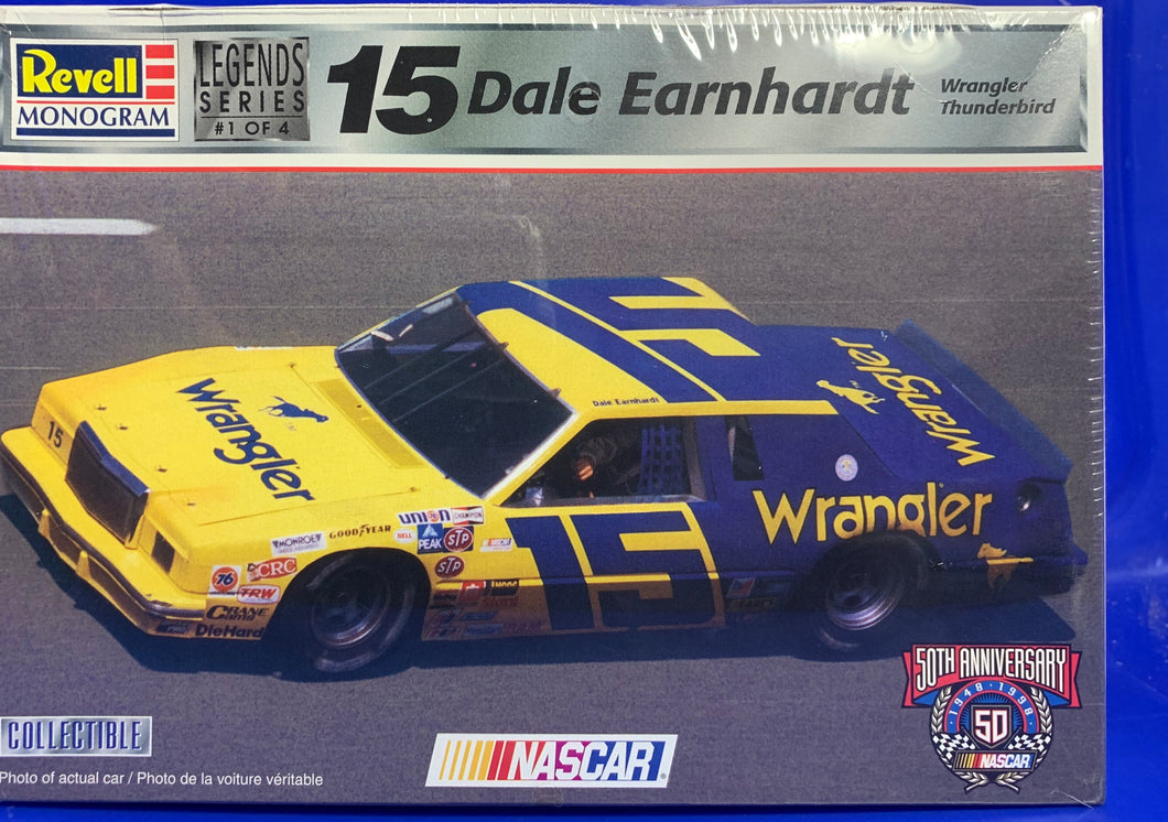 Dale Earnhardt's #15 Wrangler Thunderbird  1/24 1998 Issue
