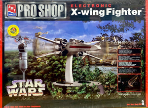 Star Wars Pro Shop Electronic X-wing Fighter 1/35 Scale