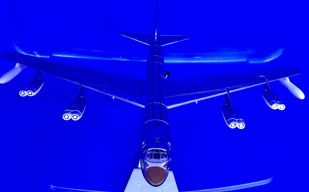 Boeing B-52C Stratofortress Diecast Model USAF SAC 7th BW, Carswell AFB, TX, 1971 1/144 scale