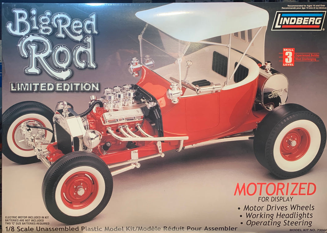 Big Red Rod (T Bucket) 1/8  1999 Issue
