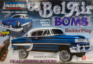 "53 Bel Air BOMB 1/25 ""Real Jumpin Action"""
