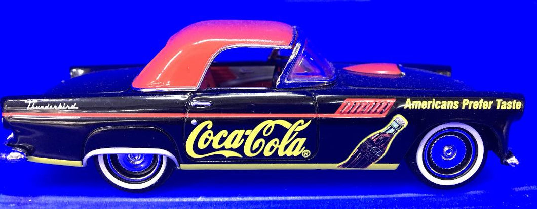 Coca Cola 1955 Ford Thunderbird   1/43 Scale