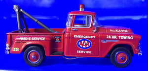1955 Chevy 3100 AAA Towing & Service Truck  1/43 Scale