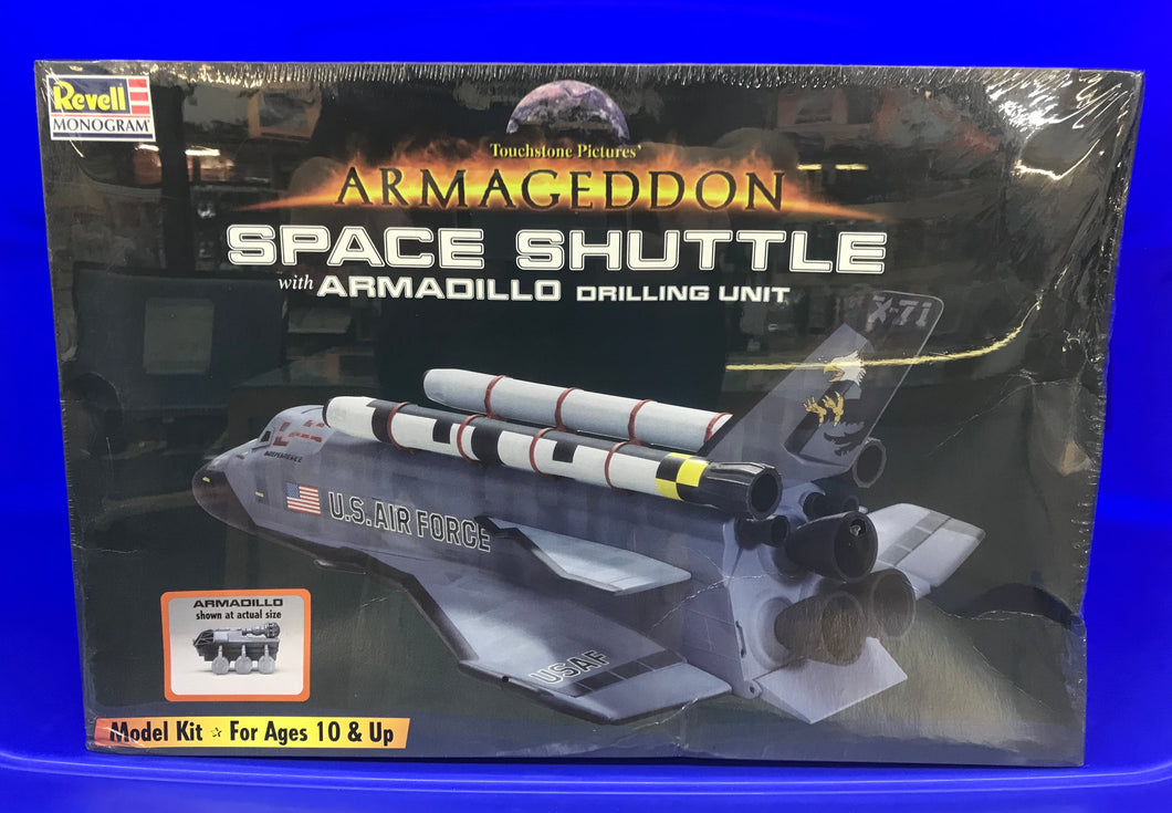 Space Shuttle with Armadillo drilling unit from ARMAGEDDON
