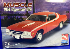 GTX Plymouth 1974 1/25  2007 Issue