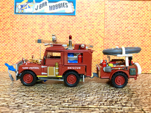 1952 Land Rover Royal Surf Rescue Truck