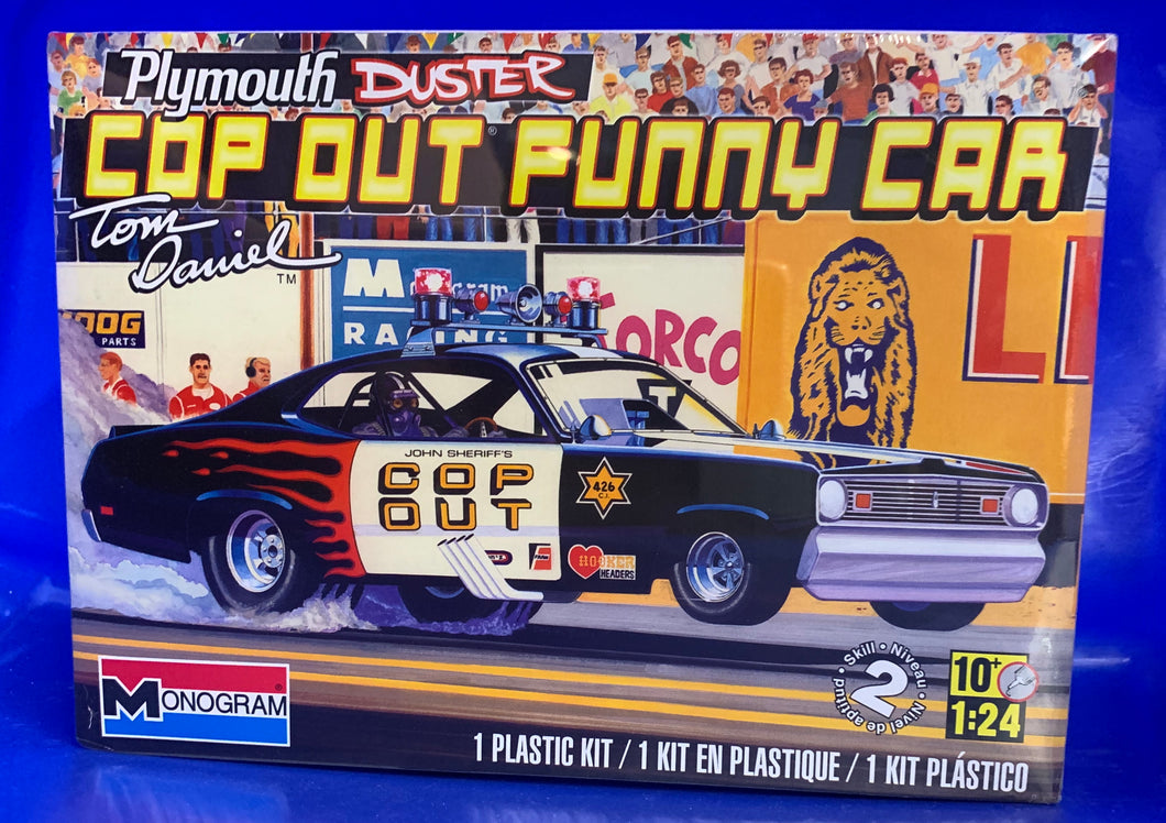 Tom Daniels Plymouth Duster Cop Out Funny Car 1/24 2013 Issue