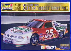 Todd Bodine's #35 Team Tabasco Pontiac Grand Prix 1 of 10,000 1997 Issue