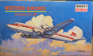Douglas DC-6B Western Airlines  1/144  2001 Issue