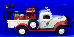1946 Dodge Power Wagon; Brush/Field Fire Truck  1/43 Scale
