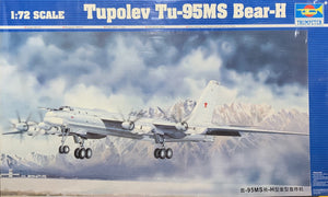 Tupolev Tu-95MS Bear-H  1/72  2002 Issue