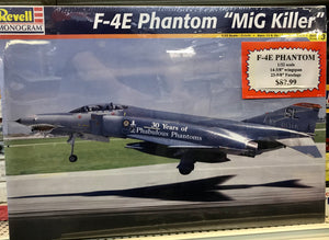 "F-4E Phantom ""MiG Killer""   1/32 scale   1998 release from Revell/Monogram"