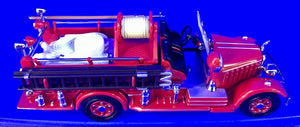 1935 Mack AB Fire Engine   1/43 Scale