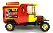 Load image into Gallery viewer, 1912 Model T Ford Van Coca Cola 1/43