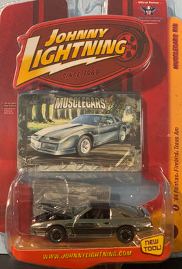 Muscle Cars 1984 Pontiac Firebird 1/64 Series 18 (1)
