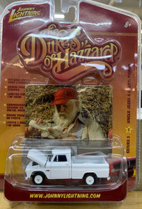 Dukes of Hazzard Uncle Jesse's White Pickup 1/64