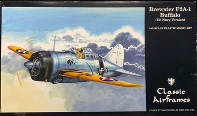 Brewster F2A-1 Buffalo US Navy Version 1/48