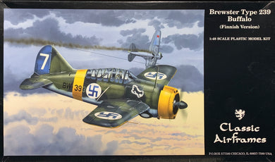 Brewster Model 239 Buffalo (Finnish Version) 1/48