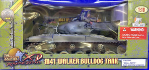 M41 Walker Bulldog Tank  1/18 Scale