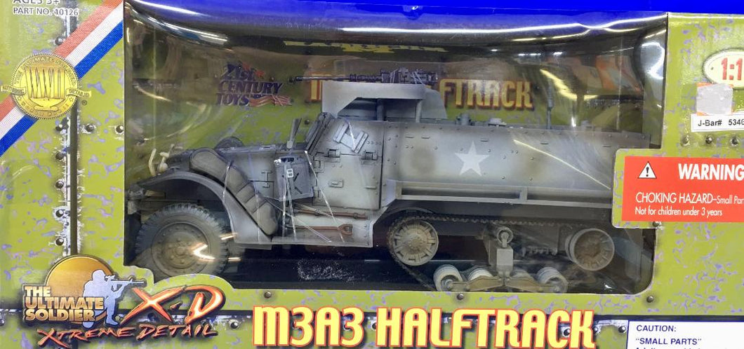 M3A3 Halftrack  1/18 Scale