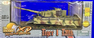 TIGER 1 TANK      1/18 SCALE!