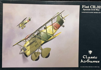 Fiat CR.32 (Spanish Civil War) 1/48