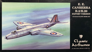 B.2/B.20 English Electric Canberra  Export Version 1/48