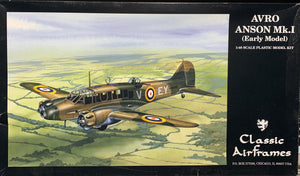 Avro Anson Mk.1 (Early Model) 1/48