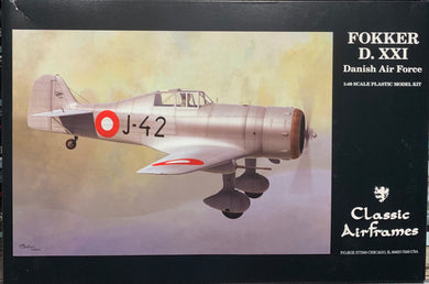Fokker D.XXI Danish Air Force   1/48