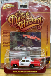 Dukes of Hazzard  Finchburg County Sheriff's car 1/64