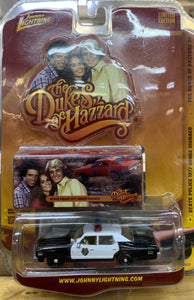 Dukes of Hazzard 1977 Dodge Monaco State Police Car  1/64