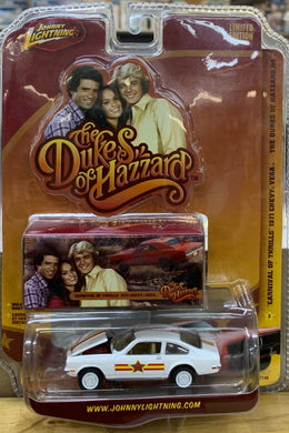 Dukes of Hazzard  Carnival Of Thrills  Chevy Vega  1/64